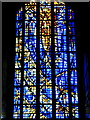 TQ1572 : West window of St. Mary's University College Chapel, Twickenham by pam fray
