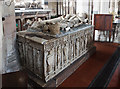 SJ7907 : St Bartholomew's church, Tong - table-tomb of Sir Richard Vernon &amp; his wife Benedicta by Mike Searle