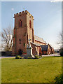 SJ5186 : St Bede's RC Church and War Memorial, Widnes by David Dixon