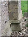 SK6266 : Cut Mark: Edwinstowe Church by Brian Westlake