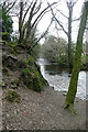 SX8078 : River Bovey at Parke estate by Graham Horn