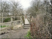 SJ9494 : Foxholes Bridge by Gerald England