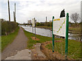 SJ5686 : Trans Pennine Trail, Sankey Canal, Fiddler's Ferry by David Dixon