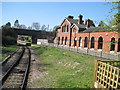 TQ5337 : Groombridge railway station (site), East Sussex by Nigel Thompson
