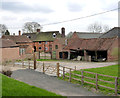 SK7156 : Manor Farm, Hockerton by Alan Murray-Rust