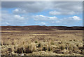 NH6892 : Moorland east of Cnoc Dubh Beag by Trevor Littlewood