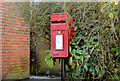 J4792 : Letter box, Whitehead by Albert Bridge