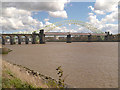 SJ5083 : Runcorn (Britannia) Railway Bridge by David Dixon