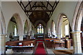 TQ9644 : Interior, St Margaret's church, Hothfield by Julian P Guffogg