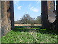 TQ3227 : Looking under Balcombe Viaduct by Ian Yarham