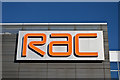 SP0196 : Logo, RAC Control Centre by Ian Capper