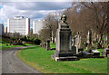 NS6065 : Glasgow Necropolis by Rossographer