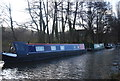 SU9844 : Narrowboat, Wey Navigation by N Chadwick