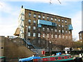 SE1416 : John L Brierleys Mill, Quay Street by Stephen Armstrong
