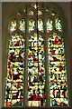 TL4457 : West window of Little St Mary's Church by James Yardley