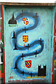 SK8171 : Fledborough Viaduct murals by Richard Croft