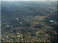SJ8790 : Heaton Norris and Heaton Moor from the air by Thomas Nugent