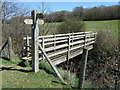 TQ8316 : Fingerpost beside Doleham Ditch by Chris Heaton