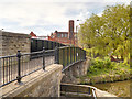 SD5705 : Leeds and Liverpool Canal Bridge #51, Pottery Road Bridge at Wigan Pier by David Dixon
