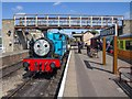 TL0997 : Thomas at Wansford Station by David P Howard