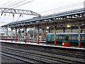 SJ7154 : An Arriva Wales train at Crewe by John Lucas