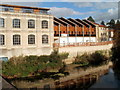 ST8260 : Town centre riverside properties, Bradford-on-Avon by John Grayson