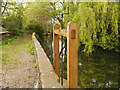 SJ8476 : Mill Pond and Sluice Gate, Nether Alderley Mill by David Dixon