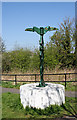 NT2170 : Millennium Cycleway Signpost by Anne Burgess