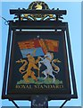 "SU9287 : Sign at the ""Royal Standard"" PH by Shazz"