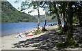 NN5811 : Summer sun by Loch Lubnaig by Alan Reid