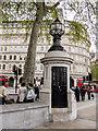 TQ3080 : London's Smallest Police Station by Kim Fyson