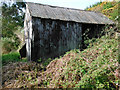 SH6037 : Barn on Ynys Gifftan by Arthur C Harris