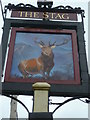 "SU9983 : Sign at ""The Stag"" PH by Shazz"