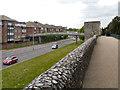 TR1457 : Canterbury City Wall, Pin Hill by David Dixon