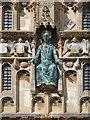 TR1457 : Statue, Christ Church Gate by David Dixon