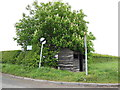 SE9855 : Bus shelter on the A614 by Ian S