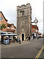 TR1557 : St George's Clocktower, Canterbury by David Dixon