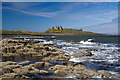 NU2521 : Dunstanburgh Castle by Mike Searle