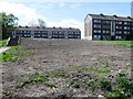 NS5962 : Demolished Flats, Prospecthill Circus by Alex McGregor