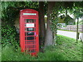 SY8093 : Affpuddle: red telephone box by Chris Downer
