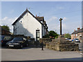 SK4637 : Stanton Cross and the old Post Office by Alan Murray-Rust