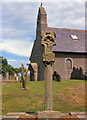 SC4991 : Maughold Church and Pillar Cross by David Dixon