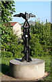 NT2576 : Millennium Cycleway Signpost by Anne Burgess