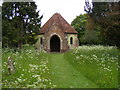 TM4584 : Sotterley Chapel by Adrian Cable
