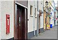 J5980 : GR wall box, Donaghadee (2) by Albert Bridge