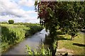 SP3903 : The River Windrush by Church End by Steve Daniels