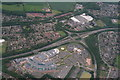 TF1600 : Peterborough City Hospital: aerial by Chris
