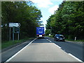 NS5026 : A76 junction near Kingencleugh House by Colin Pyle