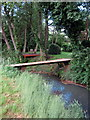 TL0534 : River Flit and domestic viewing platform by Philip Jeffrey