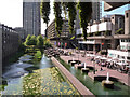 TQ3281 : Barbican Lake Terrace by Kim Fyson
